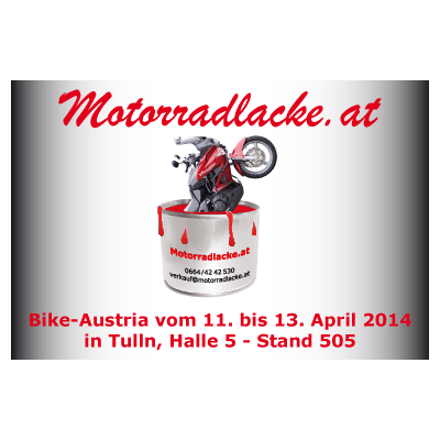 Werbeagentur K-Design: Citylight Motorradlacke.at
